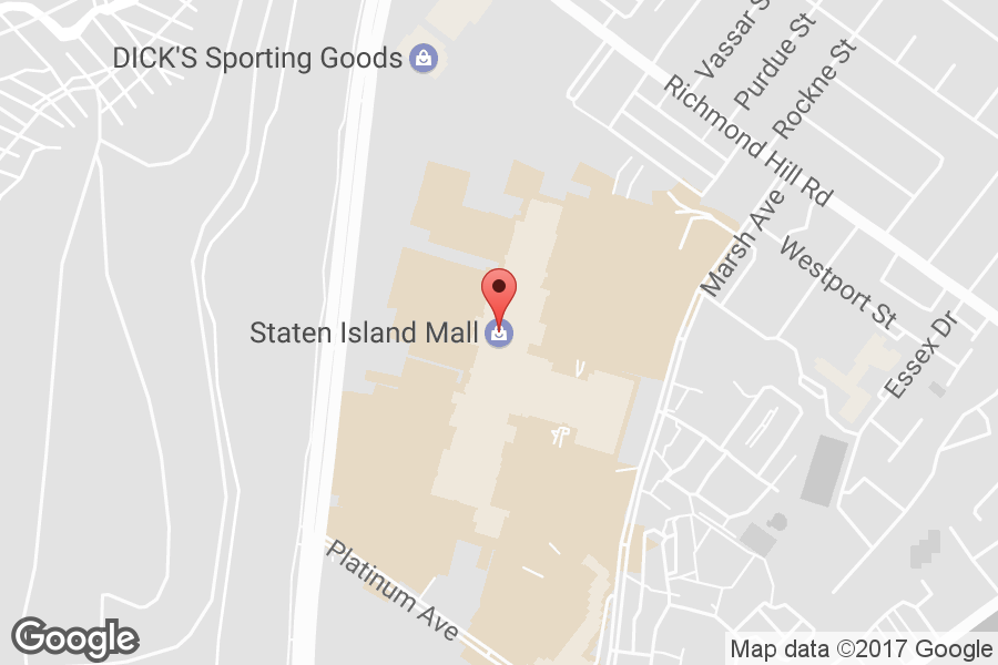 Map of Staten Island Mall - Click to view in Google Maps